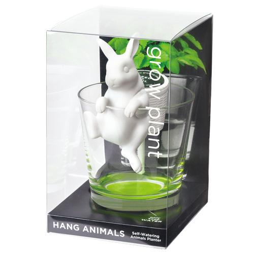Hang Animals ウサギ(ワイルドストロベリー)
